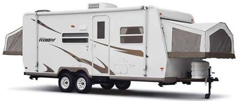 We have Expandable Travel Trailers Too!  A great way to have a bumper pull camper that has more room than most!